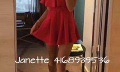 Call girl Party Girl Janette Phone: +1 (416) 893 9536